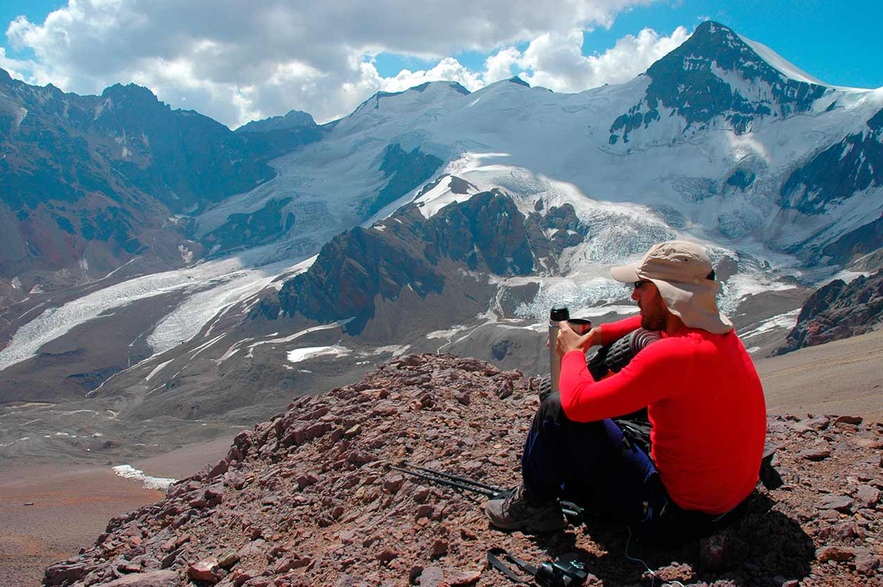 Viaje trekking Andes Aconcagua