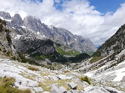 Viaje trekking Albania Alpes Dináricos