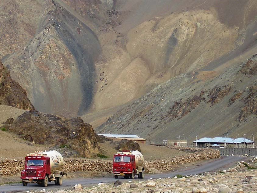 Trekking por el valle de Zanskar