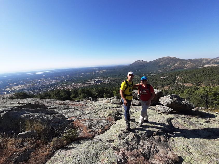 El Escorial desde el monte
