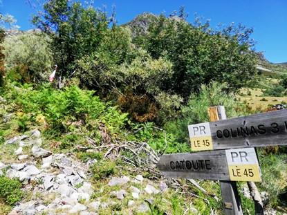 Senderismo Valle Bubín El Bierzo climbing catoute