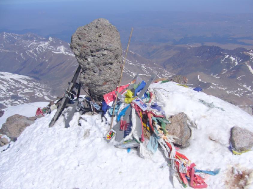 Pico Elbrus 5.642 metros