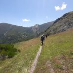 travesia trekking montes aquilianos mountains trek