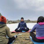 Senderismo y yoga meditación en madrid